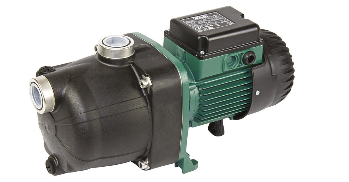 DAB JETCOM 132 M Self priming centrifugal Water pump 1,36 HP  Single-phase